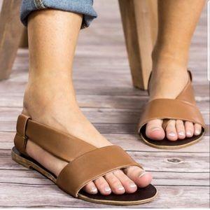 Free People Under Wraps Asymmetrical Flat Sandal
